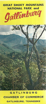 Vintage Brochure for Gatlinburg and Great Smoky Mountains National Park