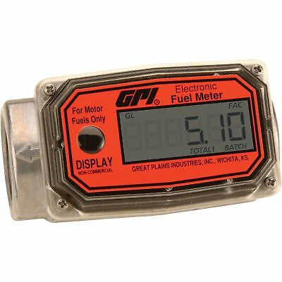 GPI Digital Turbine Fuel Meter - Model# 01A31GM