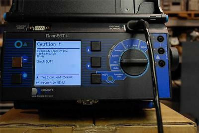 Dranetz DranEST III Electrical Safety Tester Very Nice          cp