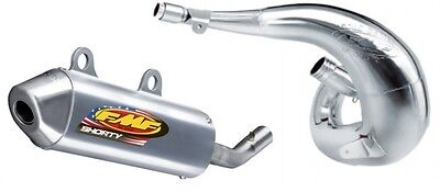 FMF Racing Fatty Exhaust Pipe And Shorty Silencer Combo for Honda CR 250 00-01