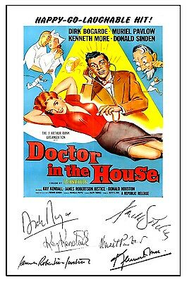 Doctor In The House - Cast Signed (Pre Printed) A4 Poster