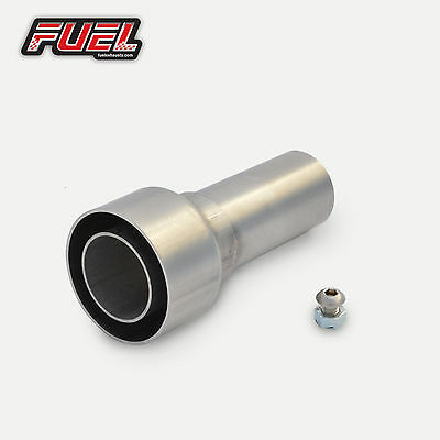 Decibel Killer - 57mm Straight Outlet Exhausts - Noise Reducer - Race Can Baffle