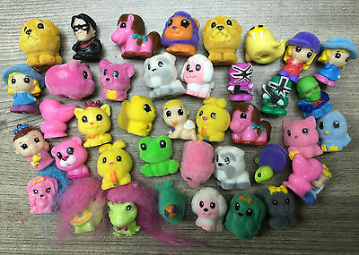 SQUINKIES Toys 50pc Mixed Lot In Random With Doubles and NO Bubbles US