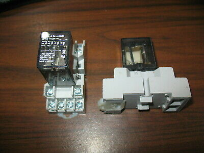 Potter Brumfield KHAU-17A16-120 Cube Relay With Base