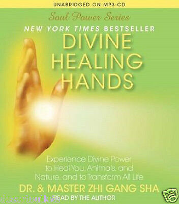 NEW!  Divine Healing Hands by Dr. & Master Zhi Gang Sha Unabridged on MP3 - CD