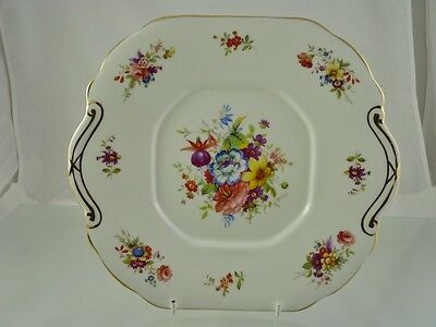 Lady Patricia Scalloped Cake Plate F Howard By Hammersley & Co England
