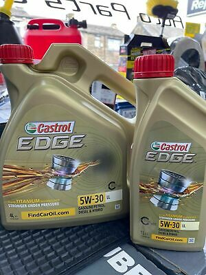 Castrol Edge Professional LongLife III 5W-30 LongLife Fully Synthetic 10 Ltrs