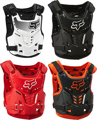 Fox Racing Youth Boys Proframe LC Roost Guard Chest Deflector