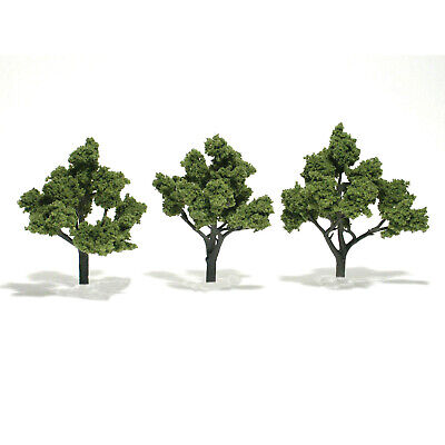 NEW Woodland Scenics Assembled Tree Light Green 5  TR1509