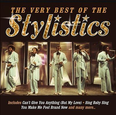Stylistics ( New Sealed Cd ) The Very Best Of / Greatest Hits Collection