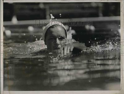 1937 Press Photo Toni Redferm, lost her National A.A.U. title in the 100-meter