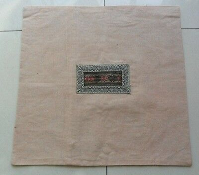 Tribal Exotic Chinese Miao people's hand embroidery pillow cover
