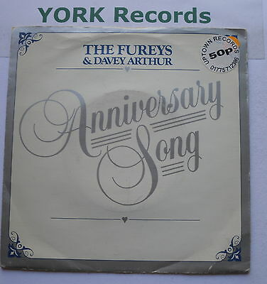 "FUREYS & DAVEY ARTHUR - Anniversary Song - Excellent Con 7"" Single Ritz RITZ 032"