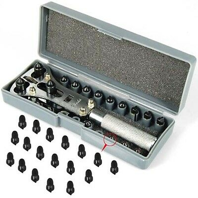 Professional Watch Repair Back Case Tool Kit with 18 Tips - By TRIXES