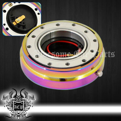 For Ford Aftermarket Aluminum Slim Thin Steering Wheel Hub Adapter Quick Release