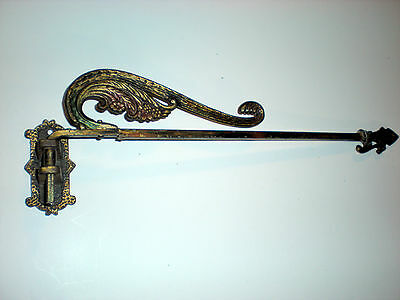 antique iron plant hanger with 1 additional vintage hanger PRICE REDUCED!!!