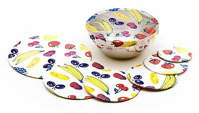 Clear 528 Bowl Covers 6 piece Set by Norpro NEW