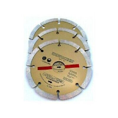 """3 Pack Of 115Mm 4.5"""" Diamond Cutting  Blades Discs For Angle Grinder"""