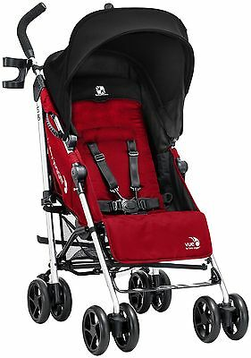 Baby Jogger Vue Stroller in Red with Reversible Seat and Full Recline!!