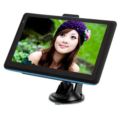 """New 7""""Blue edge Built-in 4GB TF Car GPS Navigator USA Canada and Mexico Map"""
