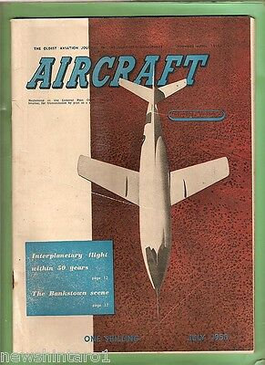 #t5.  Aircraft Magazine For July 1950