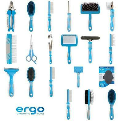 dog grooming brushes ancol ergo combs slickers rakes nail clips for your pet