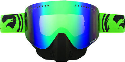 Dragon Alliance NFX Split Snow Goggles with Green Ionized Lens 2013 Green Black