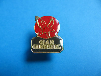 Clan Campbell Coat of Arms Whisky pin badge VGC. Scotch Whiskey