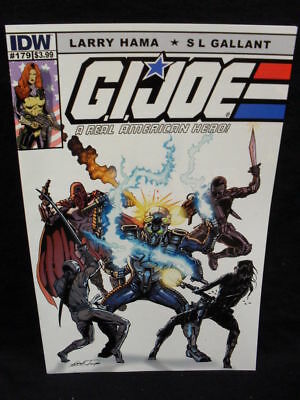 G.i Joe Real American Hero #179 Ri Cvr (Idw)