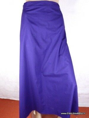 Jupe Grande Taille Longue Babacool Violette Taille 54 A 62 Ad1.4