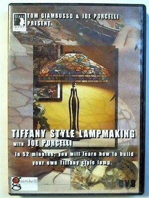 Tiffany Style Lampmaking DVD Joe Porcelli stained glass