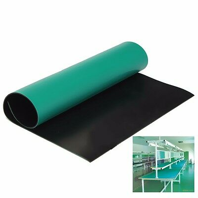 "Green Desktop Anti Static ESD Mat 12"" x 16"" For Phone PC Tablet Repair"