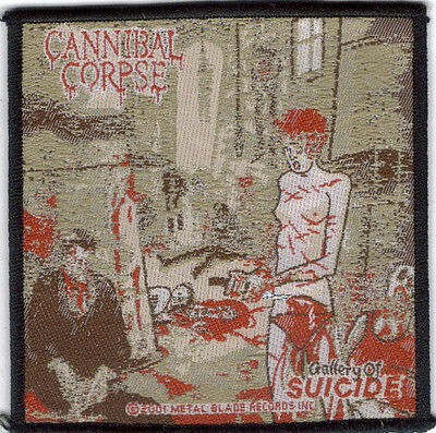 Cannibal Corpse Gallery Of Suicide Sew On Woven Patch !