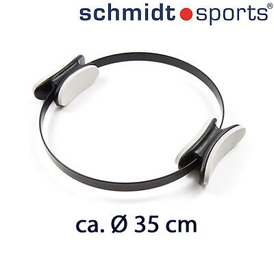 Deuser Sports Physio Pilates Ring Schwarz Durchmesser 35 cm | Yoga Toning Circle