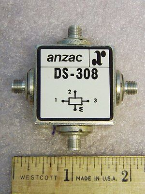 Anzac DS-308 SMA RF 3-Way Power Divider 1-300MHz