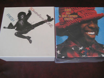 Sly Stone  Japan 8 Replicas To The Original Lp Rare 2007 Obi In A Box Set& Bonus