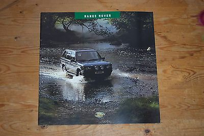 Range Rover P38 Accessories Brochure MINT - NEW