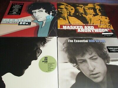 Bob Dylan Masked & Anonymous Classic Records & I'm Not There 80'S Tribute 10 Lp