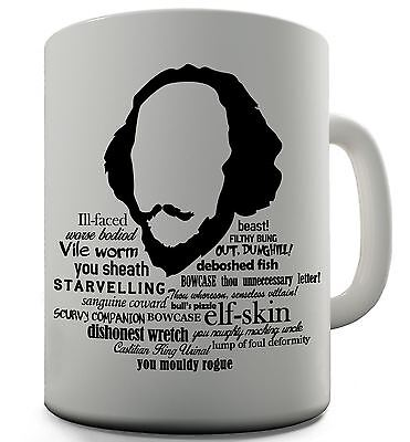 Shakespeare Quotes Funny Mug 999 Picclick Uk