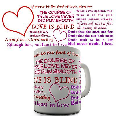 Shakespeare Quotes Funny  Mug