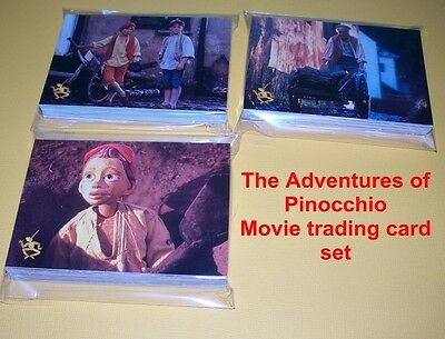 The Adventures of PINOCCHIO      Complete base card set     90 cards