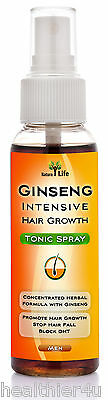 Ginseng Natural Hair Loss Treatment For Men Fast Growth Regrowth DHT Blocker