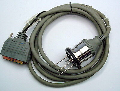 MKS HPS 100006953 Hot Cathode Ion Vacuum Low Power Nude Sensor Cable, 10ft