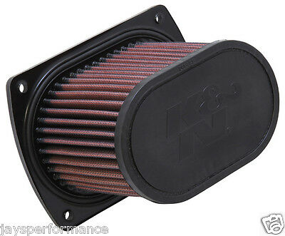 K&N High Flow Air Filter HY-6507 To Fit Hyosung GV650 Aquila (06-08)