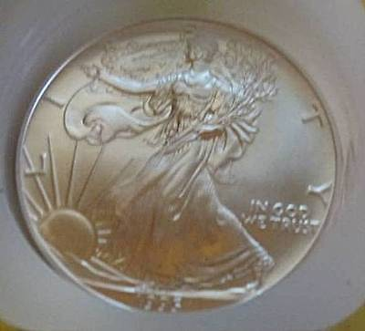 2009 American Silver Eagle Dollar Coin $1 1 Troy Ounce .999 Fine SILVER UNC