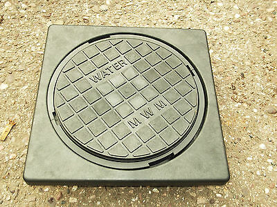 Industrial 300mm Adjustable Water Meter Box Inspection Cover & Seal . Free Post