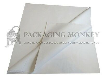 50 Sheets Of PURE WHITE Acid Free Tissue Paper 450x700mm