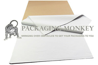 500 Sheets Of PURE WHITE Acid Free Tissue Paper 450x700mm *PROMOTIONAL PRICE*