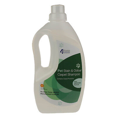 Pet Stain & Odour Citrus Shampoo Carpet Cleaner + Protector For BISSELL 1.5L