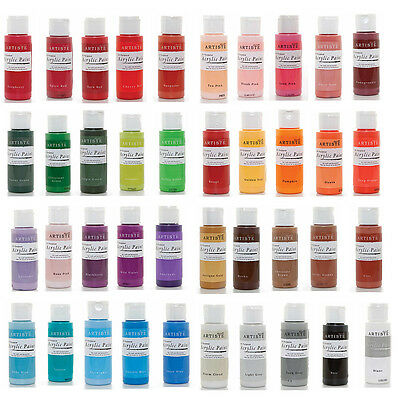 DoCrafts Artiste Acrylic Paint 59ml - Choose From 60 Colours